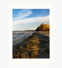 Sheldon Marsh - Autumn Beach 2 Art Print