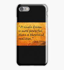 A Single Dream iPhone Case/Skin