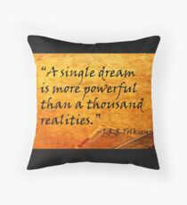 A Single Dream Throw Pillow