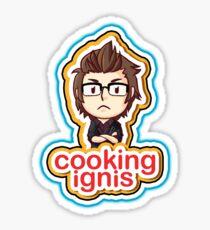 Cooking Ignis Sticker