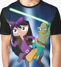 Perry and Isabella, Star Wars! Graphic T-Shirt