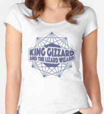 King Gizzard and the Lizard Wizard Women's Fitted Scoop T-Shirt