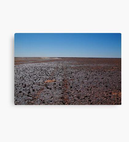 Gibber Plain,Harsh Outback Desert Canvas Print