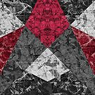 Marble Geometric Background G431 by MEDUSA GraphicART