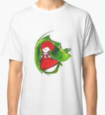 Girl and frog Classic T-Shirt
