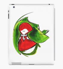 Girl and frog iPad Case/Skin