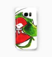 Girl and frog Samsung Galaxy Case/Skin