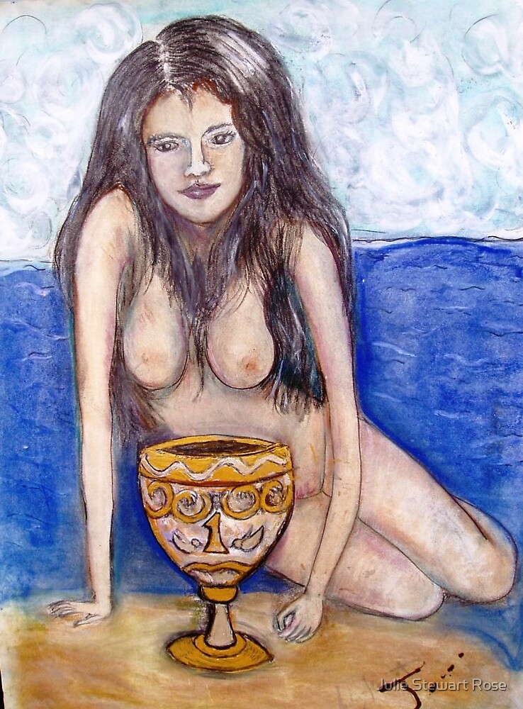 Ace of Cups by Julie Stewart Rose
