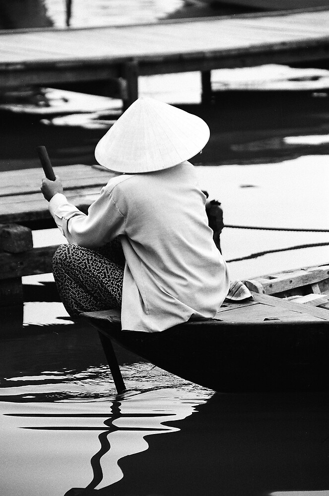 Woman on Water by Nick Humphreys