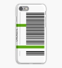 Airline luggage label - ORD iPhone Case/Skin