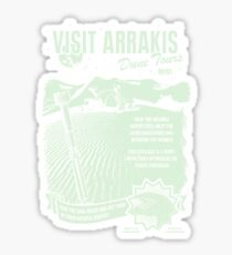 visit arrakis Sticker