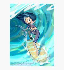 Surfer Isabella! Photographic Print