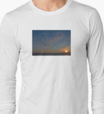 Sonnenuntergang Langarmshirt