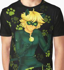 Chat Noir - Miraculous Ladybug Graphic T-Shirt