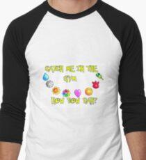 HOW BOW DAH?  Men's Baseball ¾ T-Shirt