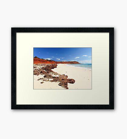 Cape Peron - Shark Bay Western Australia  Framed Print
