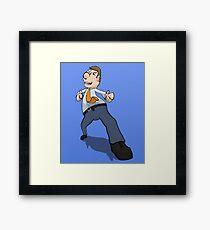 Jimmy Business  Framed Print