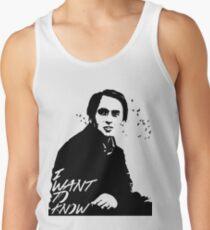 Carl Sagan - I want to know Tank Top