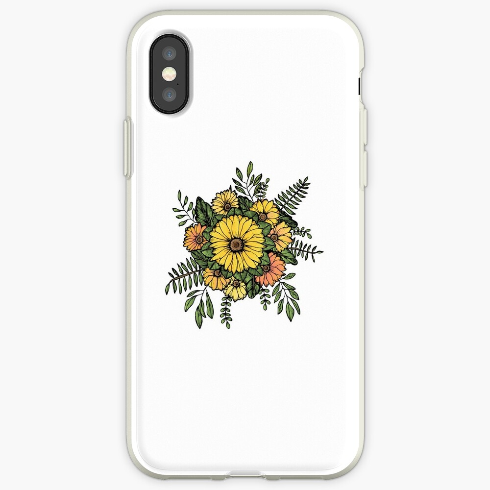 SUNFLOWERS iPhone Case & Cover