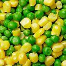 """Peas & Sweetcorn"" by zoom"