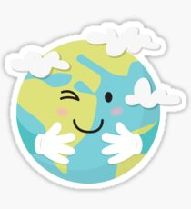 Give our earth a hug Sticker