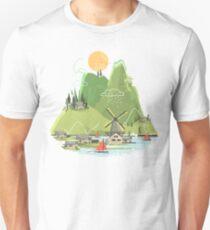 Glitchscape Unisex T-Shirt