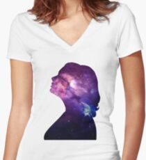 Adele | Global Success Women's Fitted V-Neck T-Shirt