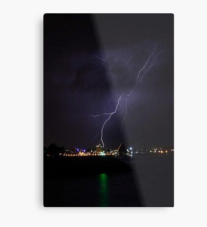 Lightning Strike Metal Print