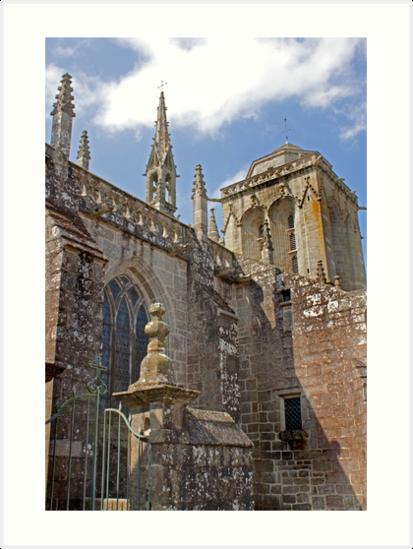 Locronan Finistere France  - Old Breton Town  by Buckwhite