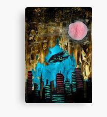 Space Port the sequel Canvas Print