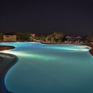 Pool Nights #3 by Stefan Bau