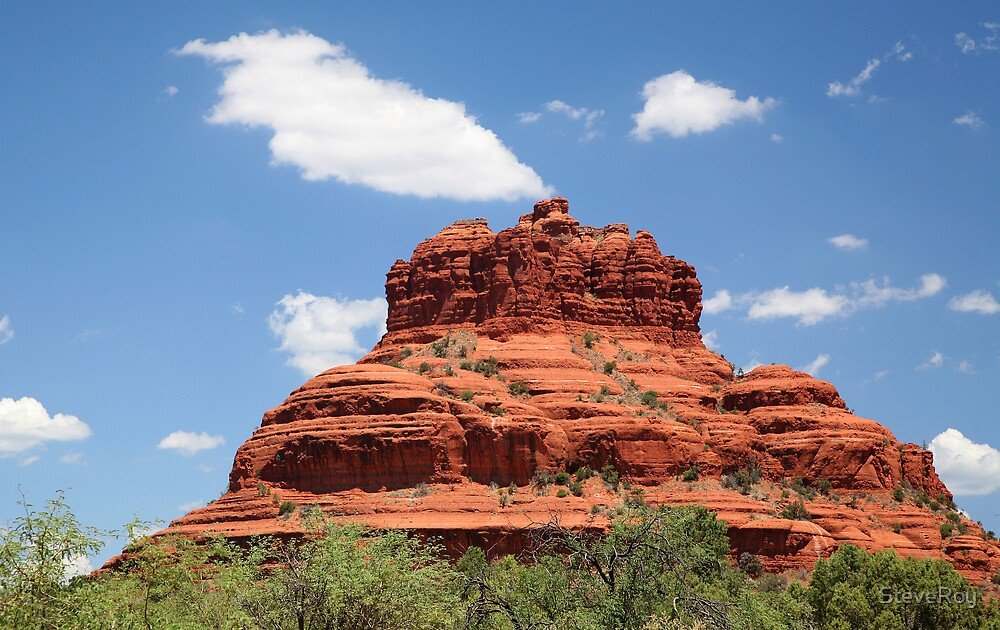 Red Rock Chimney by SteveRoy