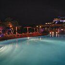 Pool Nights #4 by Stefan Bau