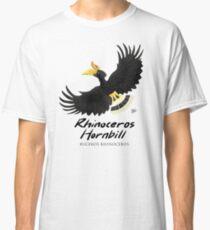 Tiere von Malaysia - Nashorn Hornbill Classic T-Shirt