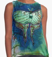 Luna Moth Contrast Tank