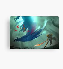Nargacuga Hunt [Monster Hunter] Canvas Print