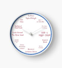 Time For Beauty Sleep - Sleeping Beauty Inspired Clock Clock