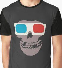 Misfits 3d Skull Graphic T-Shirt