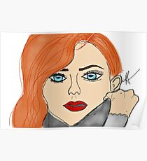 Sophie Turner Free-Draw by A.R. Regan Poster