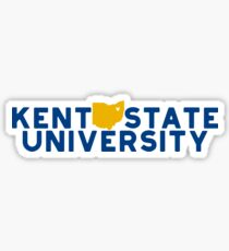 Kent State University - Style 19 Sticker