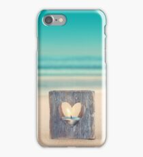 Beach Remembrance Candle iPhone Case/Skin