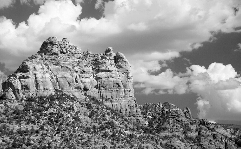 Sedona Mountain by SteveRoy