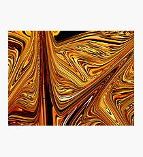 Tiger Wood Photographic Print