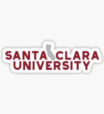 Santa Clara University - Style 19 Sticker