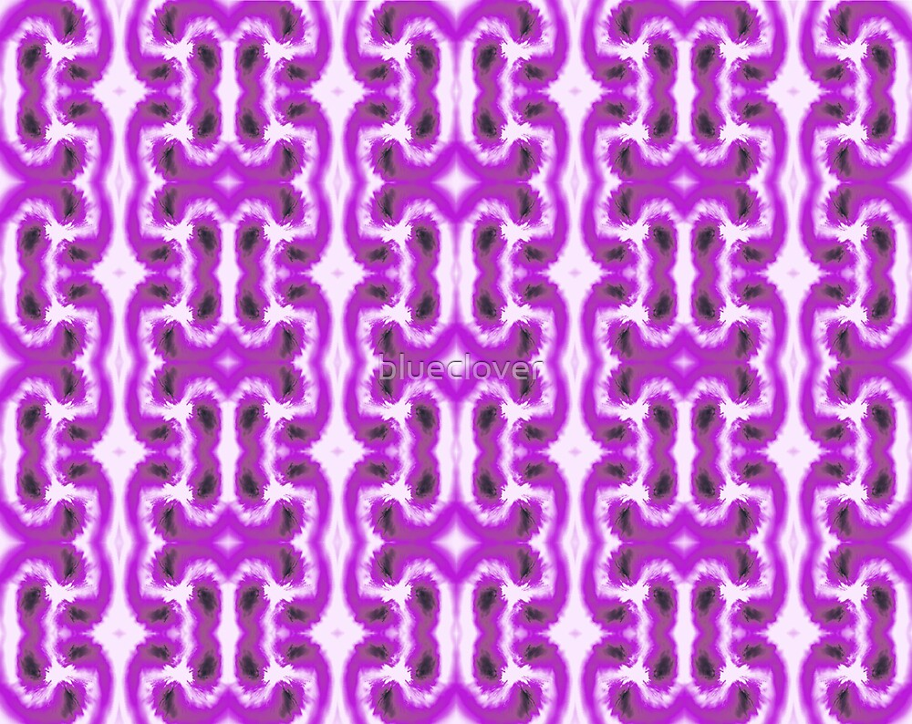 Purple and White swirly pattern by blueclover