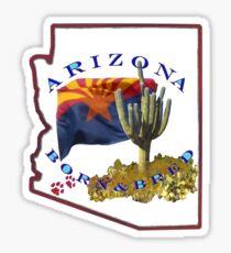 ARIZONA Born and Bred Sticker