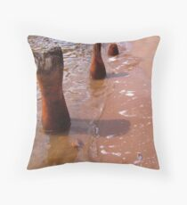 The Old Ore Dock Throw Pillow