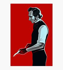 Dr. Baron Frankenstein Photographic Print