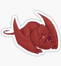 Little Smaug - Pixel Dragon Sticker