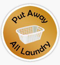 Adulting Merit Badge - Chores - Put Away Laundry Sticker